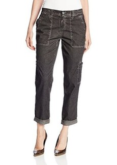 DKNY Jeans Women's Cold Pigment Washed Cargo