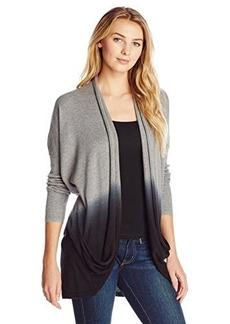 DKNY Jeans Women's Dip-Dye Cardigan Sweater