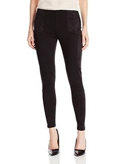 DKNY Jeans Women's Pieced Ponte Legging