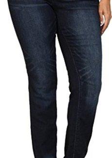 DKNY Jeans Women's Plus-Size Soho Skinny Knit Denim- Kinetic Wash