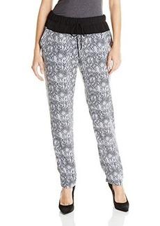 DKNY Jeans Women's Snake Print Track Pant