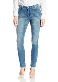 DKNY Jeans Women's Soho Skinny Knit Denim Warm Up Wash