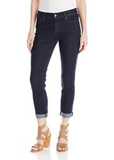 DKNY Jeans Women's Soho Skinny Rolled Crop 25 Inch Stockholm