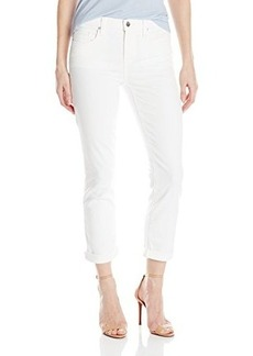 DKNY Jeans Women's Soho Skinny Rolled Crop 25 Inch White