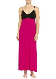 Liquid Jersey Long Gown, Fuchsia   Liquid Jersey Long Gown, Fuchsia