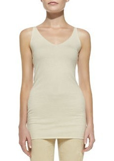 Sleeveless V-Neck Tunic   Sleeveless V-Neck Tunic