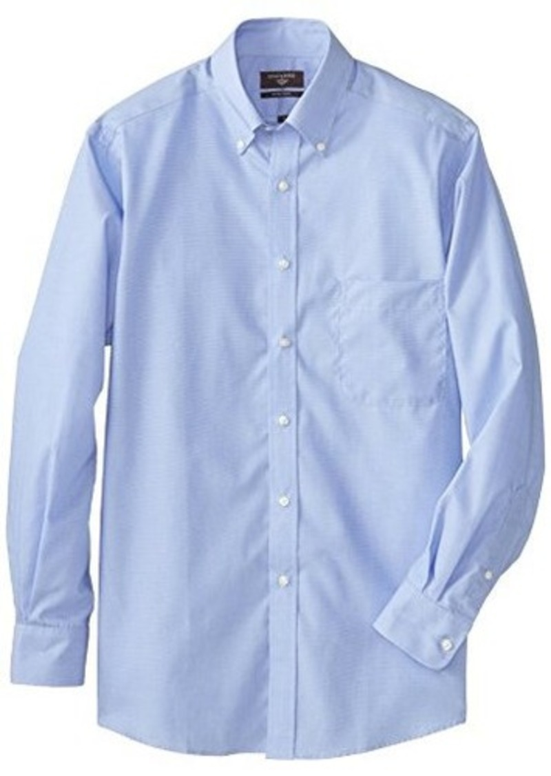 Dockers Dockers Men 39 S End On End Solid Dress Shirt With