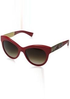 D&G Dolce & Gabbana Women's Mosaico Collection Round Sunglasses