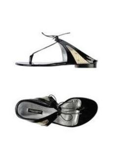DOLCE & GABBANA - Thong sandal