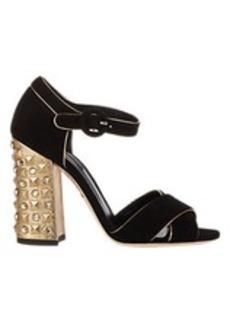 Dolce & Gabbana Embellished Ankle-Strap Sandals