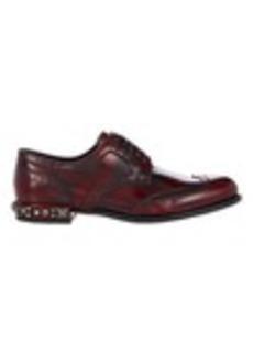 Dolce & Gabbana Embellished Wingtip Oxfords