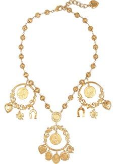 Dolce & Gabbana Gold-tone charm necklace