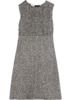 Dolce & Gabbana Herringbone wool dress
