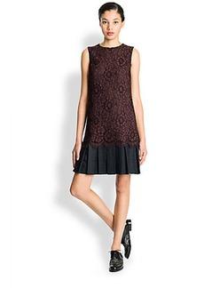 Dolce & Gabbana Lace Drop Waist Dress