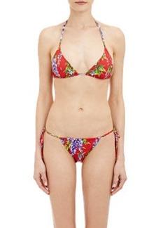 Dolce & Gabbana Wisteria Bikini Top