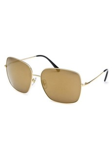 Dolce & Gabbana Women's Gold Square Sunglasses