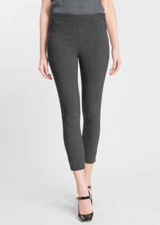 Dolce&Gabbana Crop Flannel Pants