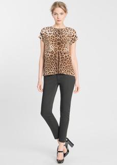 Dolce&Gabbana Leopard Print Top