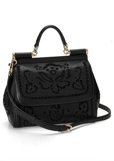 Dolce&Gabbana 'Miss Sicily' Embroidered Floral Satchel