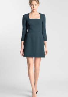 Dolce&Gabbana Stretch Wool Crepe Dress