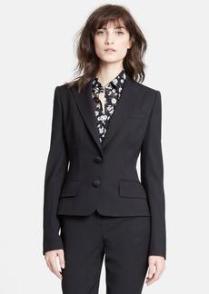 Dolce&Gabbana Two Button Stretch Wool Jacket