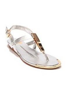 """Dolce Vita® """"Abley"""" Wedge Sandals with Metal Plates"""