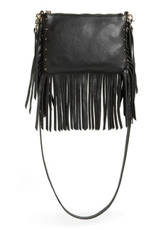 Dolce Vita 'Amber' Fringe Leather Crossbody
