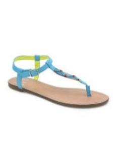 Dolce Vita Amigo T Strap Woven Sandals