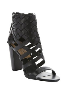 Dolce Vita black leather 'Nakita' sandals