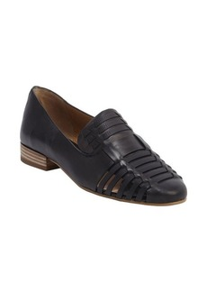 Dolce Vita black leather woven detail 'Cealey' loafers