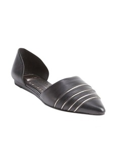 Dolce Vita black snake embossed leather d'orsay 'Adalynn' pumps
