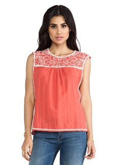 Dolce Vita Careen Top in Burnt Orange
