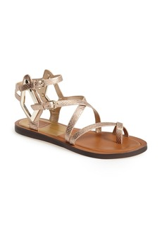 Dolce Vita 'Ferrah' Flat Leather Sandal (Women)