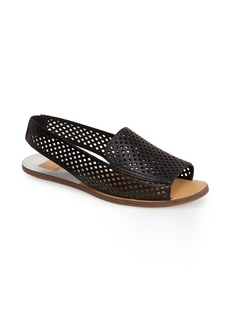 Dolce Vita 'Lisco' Perforated Leather Slingback Sandal (Women)