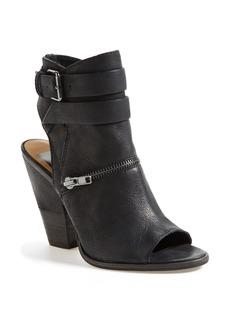 Dolce Vita 'Nayla' Open Toe Leather Bootie (Women)