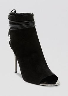 Dolce Vita Open Toe Booties - Hadlie High Heel