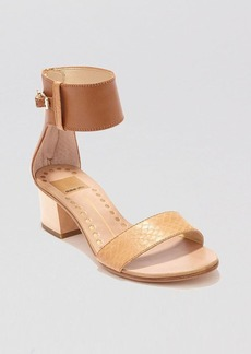Dolce Vita Open Toe Sandals - Foxie Block Heel