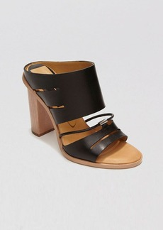 Dolce Vita Open Toe Slide Sandals - Odea High Heel