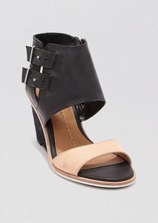 Dolce Vita Open Toe Wedge Sandals - Cambria