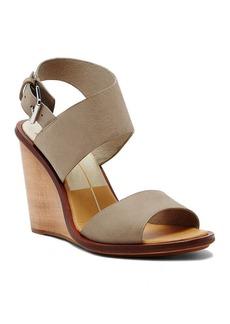 Dolce Vita Platform Wedge Sandals - Jodi