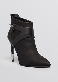 Dolce Vita Pointed Toe Booties - Isleen Harness High Heel