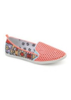 Dolce Vita Ranon Perforated Slip On Sneakers