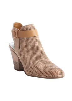 Dolce Vita taupe leather 'Henna' cutout accent booties
