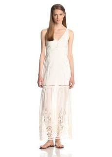 Dolce Vita Women's Almas Lace Peasant Maxi Dress