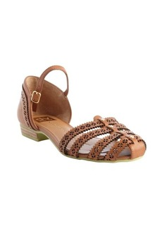 DV by Dolce Vita cognac perforated detail leather 'Ebony' sandals