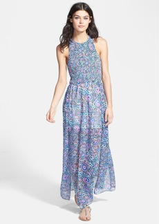DV by Dolce Vita Print Georgette Maxi Dress
