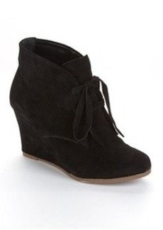 DV by Dolce Vita Suede Wedge Ankle Booties