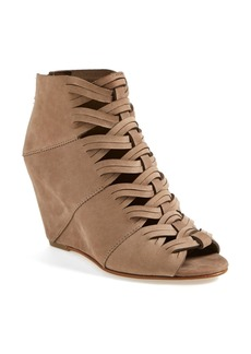DV by Dolce Vita 'Sumner' Peep Toe Wedge Bootie (Women)