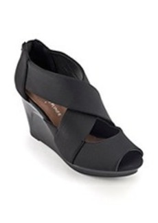 "Donald J Pliner® ""Apollo"" Wedge Sandals - Black"