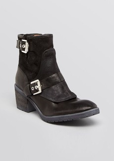 Donald J Pliner Booties - Delta Buckle